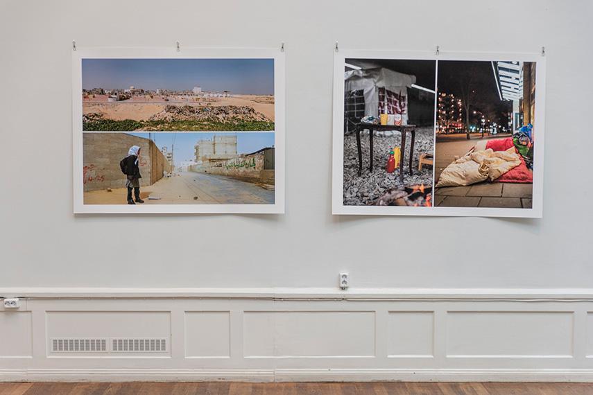 Cecilia Parsbergs verk i Stora Galleriet på Konstnärshuset 2018