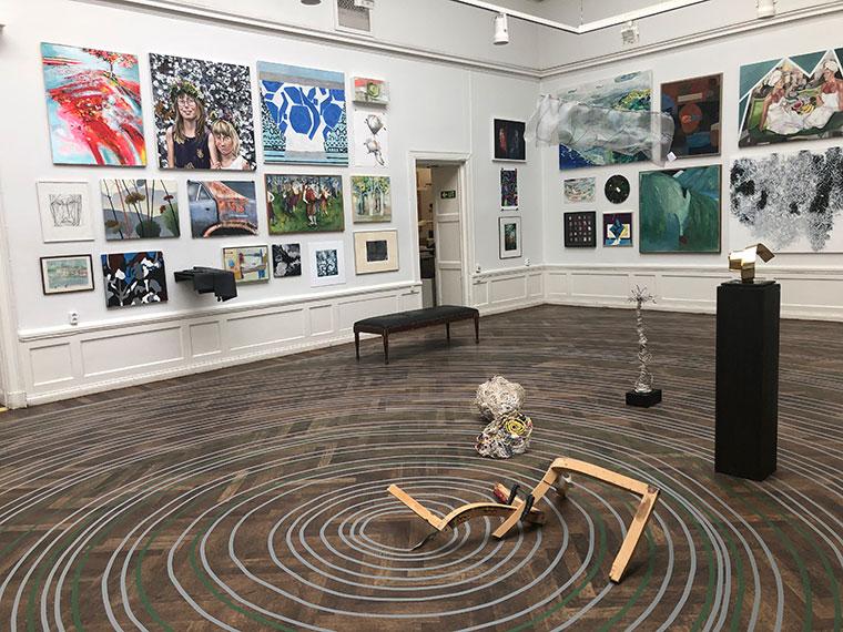 Årsringar 2019 Stora Galleriet Konstnärshuset